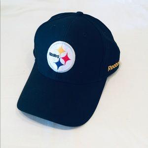 Pittsburgh Steelers adjustable hat by Reebok.